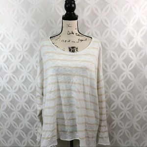 Eileen Fisher Organic Linen Stripe Sweater